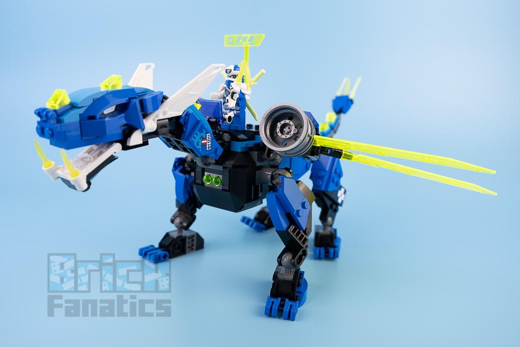 LEGO NINJAGO 71711 Jays Cyber Dragon 12