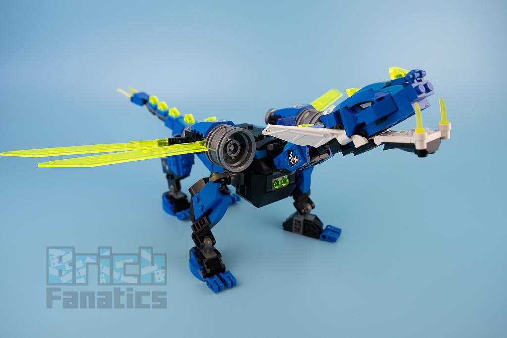 LEGO NINJAGO 71711 Jays Cyber Dragon 19