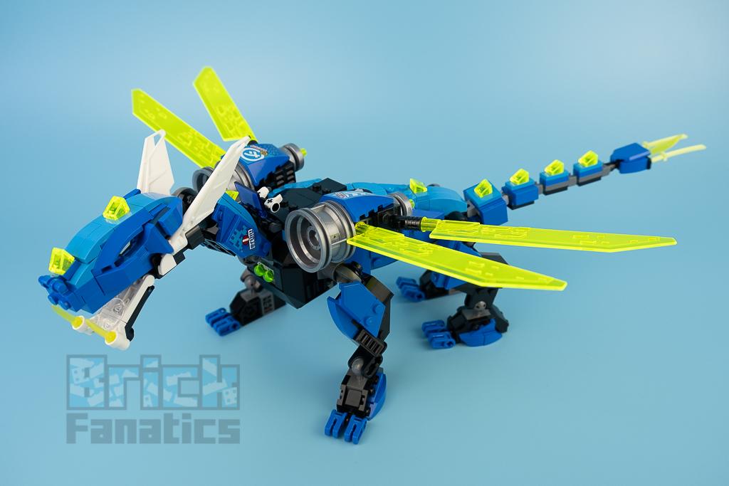 LEGO NINJAGO 71711 Jays Cyber Dragon 21