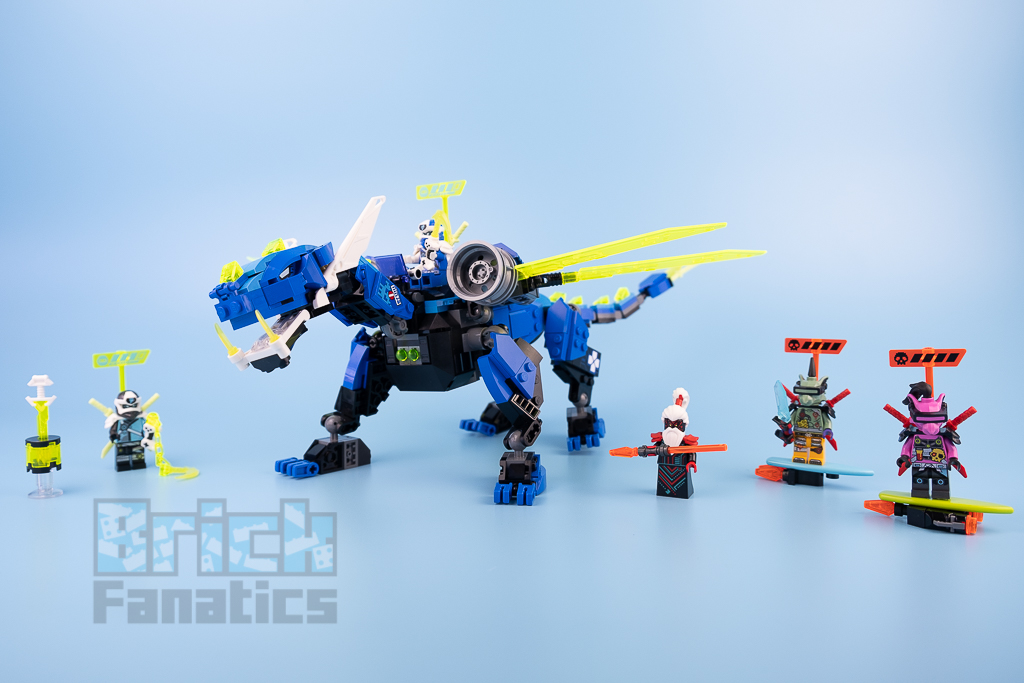 LEGO NINJAGO 71711 Jays Cyber Dragon 3