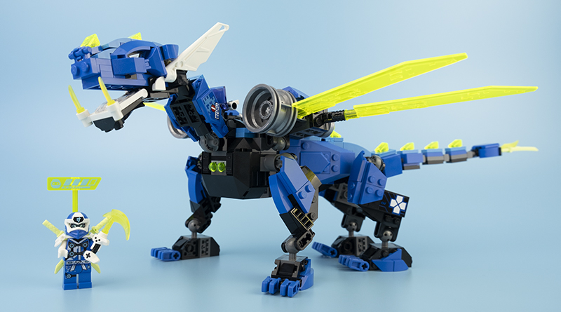 LEGO NINJAGO 71711 Jays Cyber Dragon Review Featured