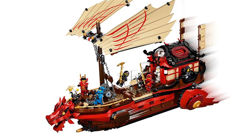 LEGO NINJAGO 71715 Destinys Bounty Featured