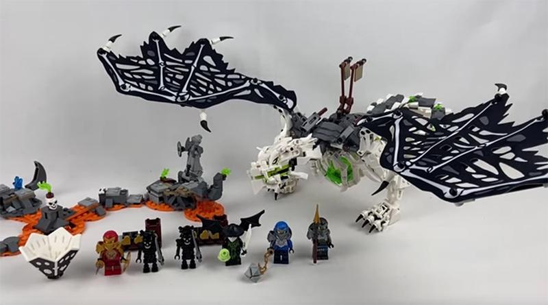 LEGO NINJAGO 71718 Wus Battle Dragon Featured