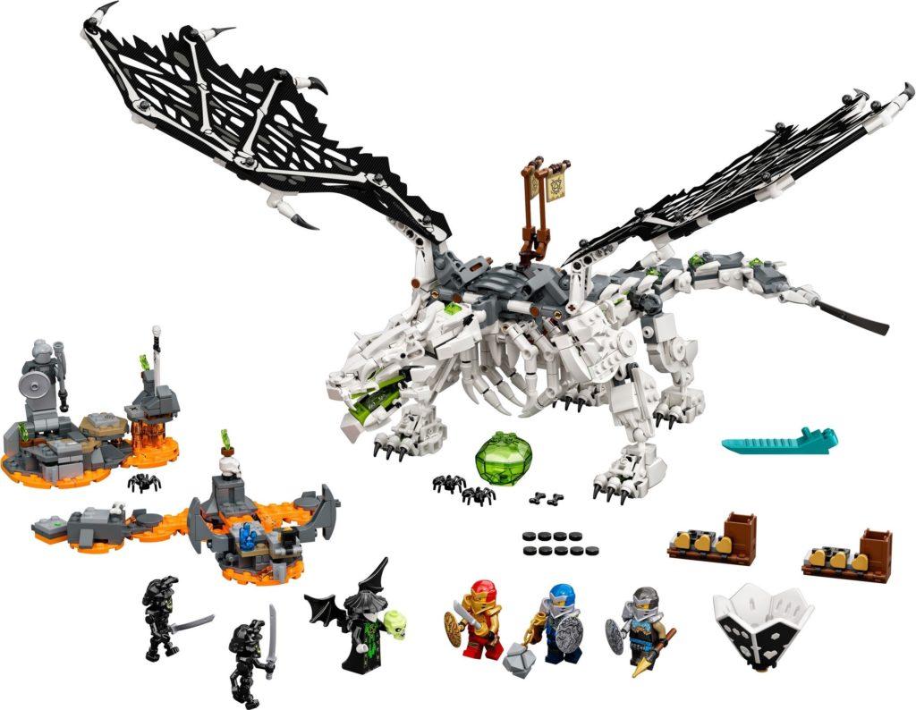 LEGO NINJAGO 71721 Skull Sorcerers Dragon