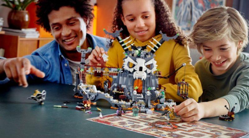 LEGO NINJAGO 71722 Skull Sorcerers Dungeon lifestyle 2 resized featured