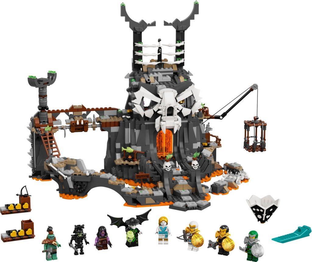 LEGO NINJAGO 71722 Skulls Sorcerors Dungeons