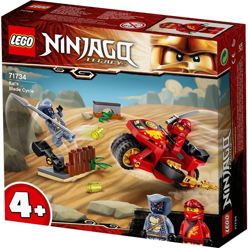 LEGO NINJAGO 71734 KAIS BLADE CYCLE 1