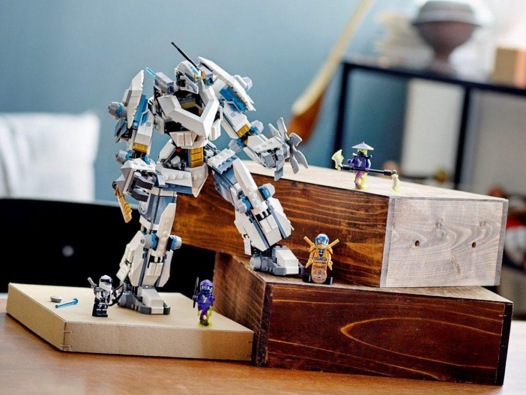 LEGO NINJAGO 71738 Zanes Titan Mech Battle