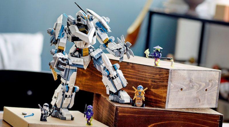 LEGO NINJAGO 71738 Zanes Titan Mech Battle featured resized