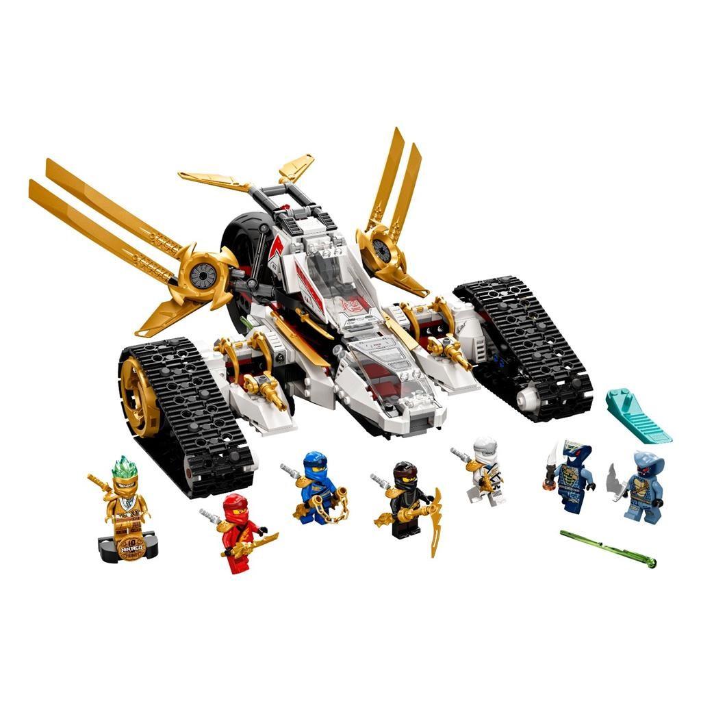 LEGO NINJAGO 71739 ULTRA SONIC RAIDER 2