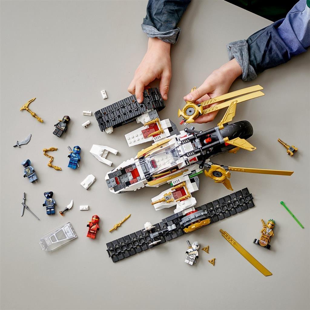 LEGO NINJAGO 71739 ULTRA SONIC RAIDER 3