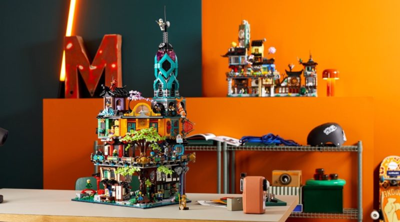 LEGO NINJAGO 71741 NINJAGO City Gardens featured 1