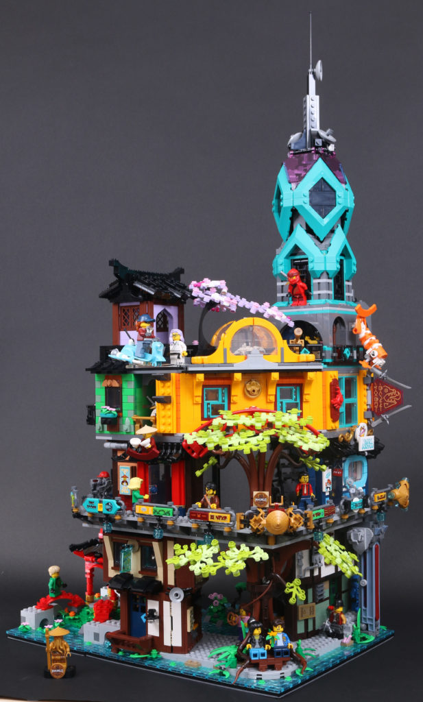 LEGO NINJAGO 71741 NINJAGO City Gardens review 1
