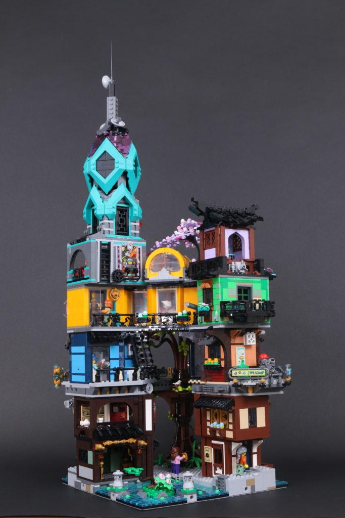 LEGO NINJAGO 71741 NINJAGO City Gardens review 100