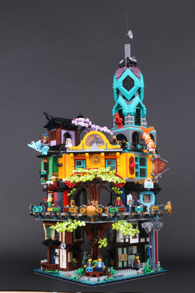 LEGO NINJAGO 71741 NINJAGO City Gardens Review 101