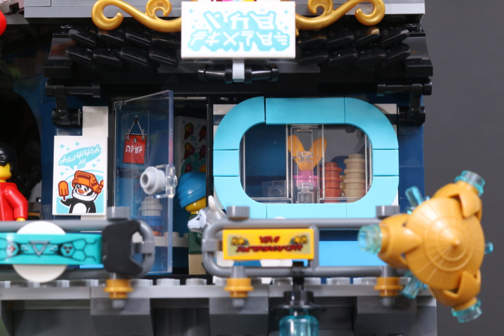 LEGO NINJAGO 71741 NINJAGO City Gardens Review 104
