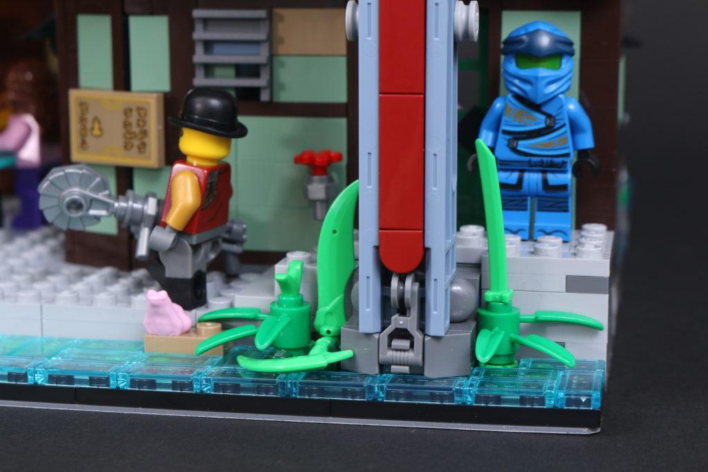 LEGO NINJAGO 71741 NINJAGO City Gardens review 105