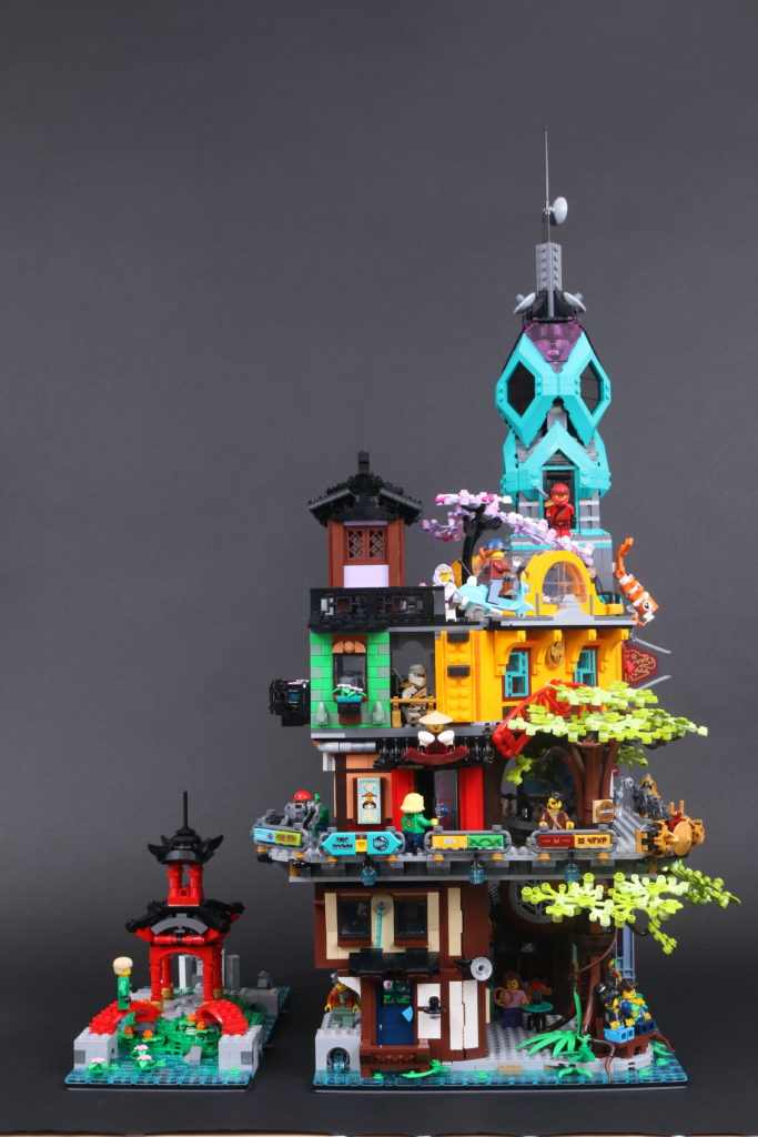 LEGO NINJAGO 71741 NINJAGO City Gardens Review 11