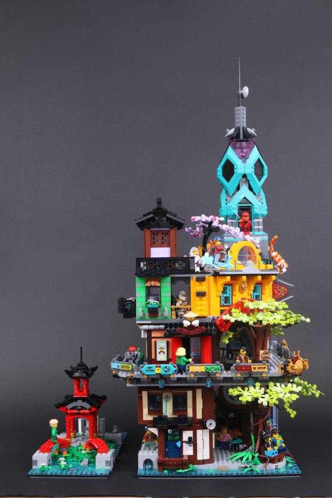 LEGO NINJAGO 71741 NINJAGO City Gardens review 11
