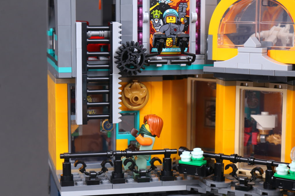 LEGO NINJAGO 71741 NINJAGO City Gardens Review 110