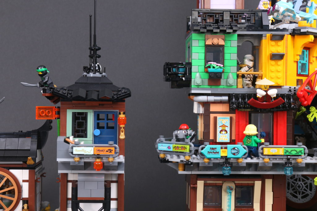 LEGO NINJAGO 71741 NINJAGO City Gardens Review 111