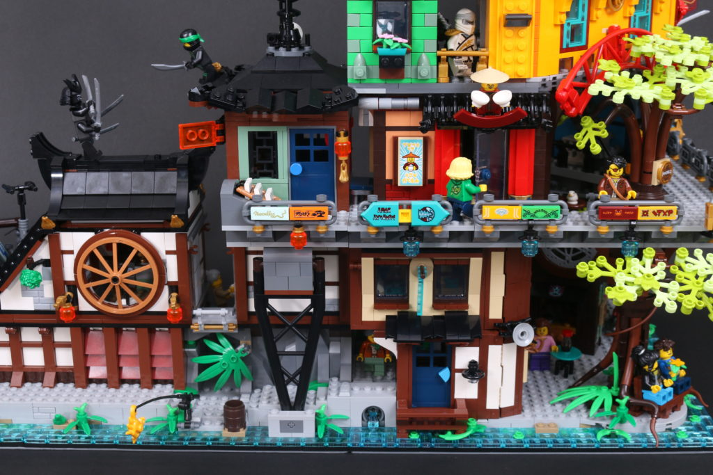 LEGO NINJAGO 71741 NINJAGO City Gardens Review 112
