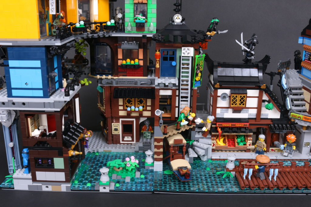 LEGO NINJAGO 71741 NINJAGO City Gardens Review 113 1