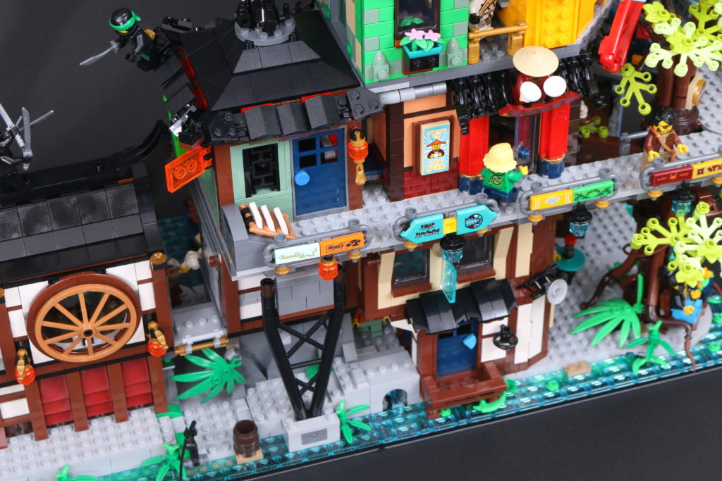 LEGO NINJAGO 71741 NINJAGO City Gardens Review 114 1