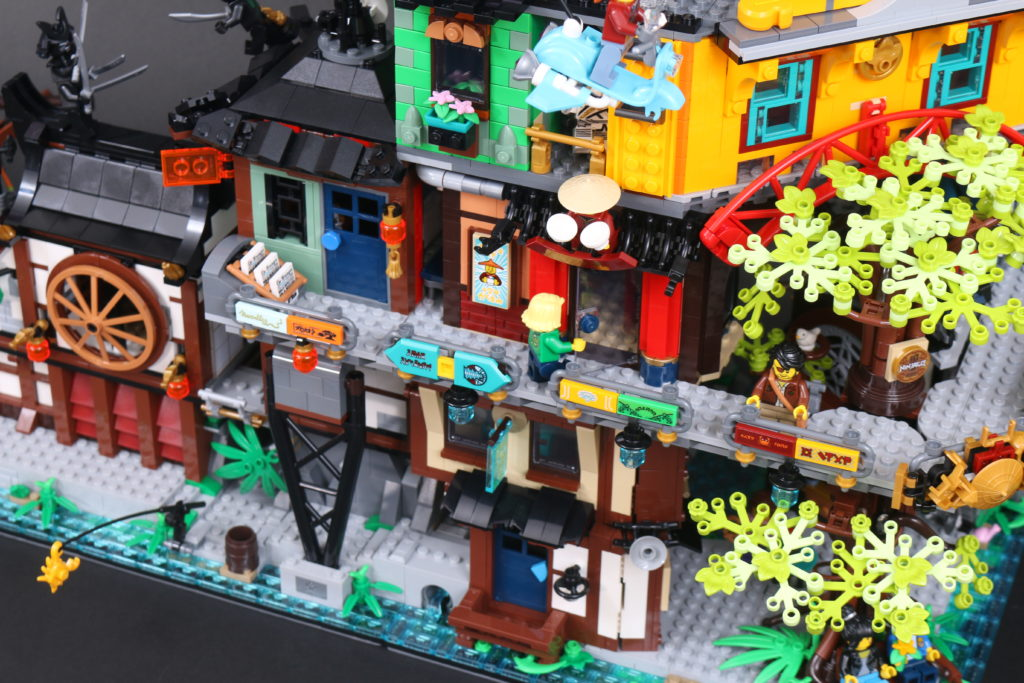 LEGO NINJAGO 71741 NINJAGO City Gardens Review 115 1