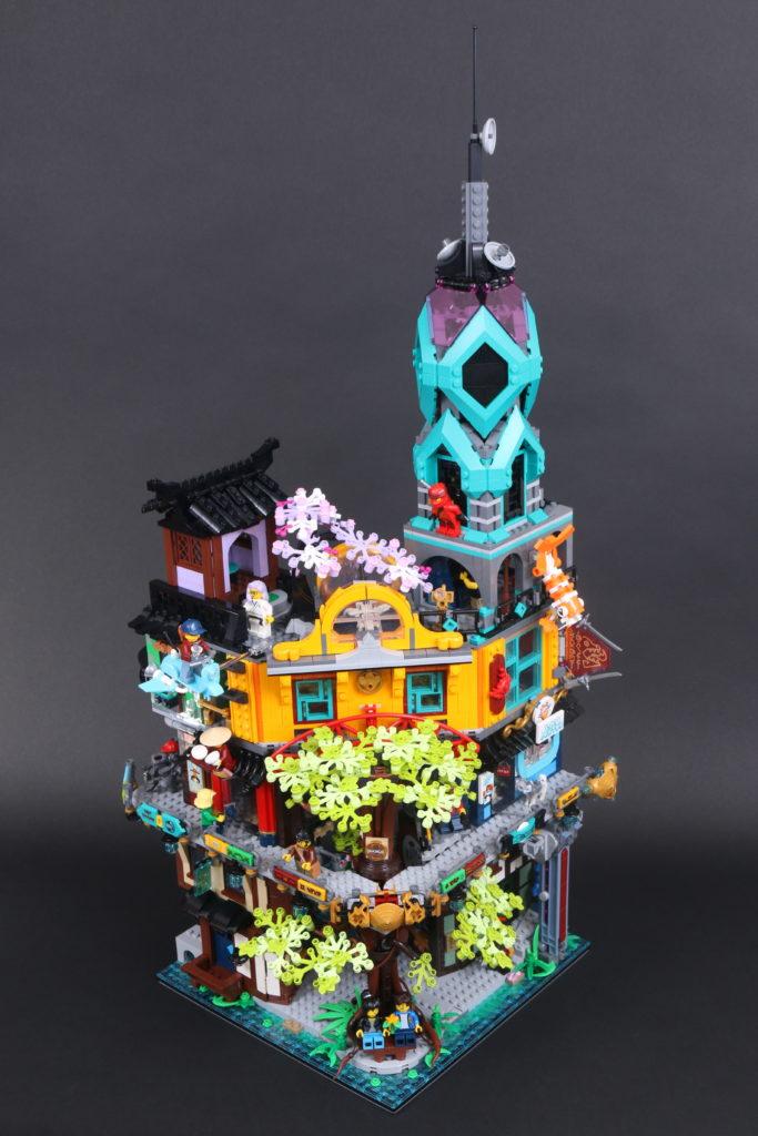 LEGO NINJAGO 71741 NINJAGO City Gardens review 14