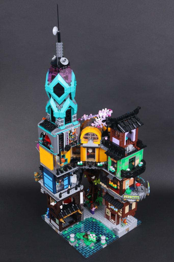 LEGO NINJAGO 71741 NINJAGO City Gardens review 15
