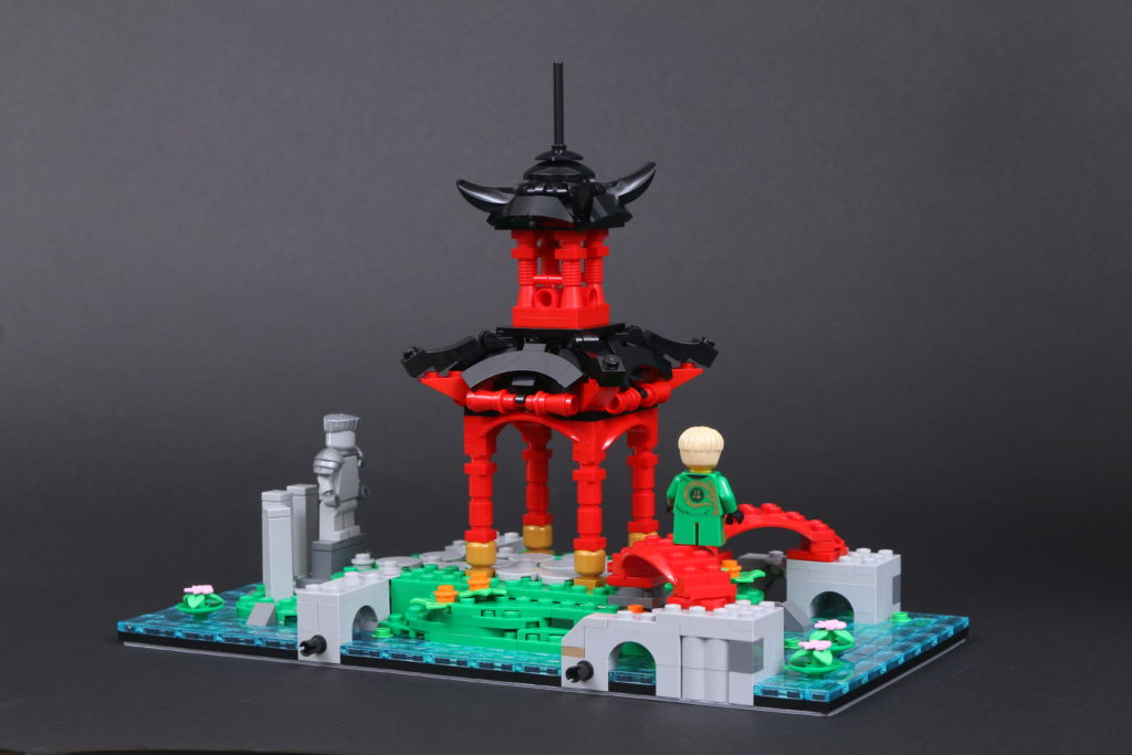 LEGO NINJAGO 71741 NINJAGO City Gardens Review 17
