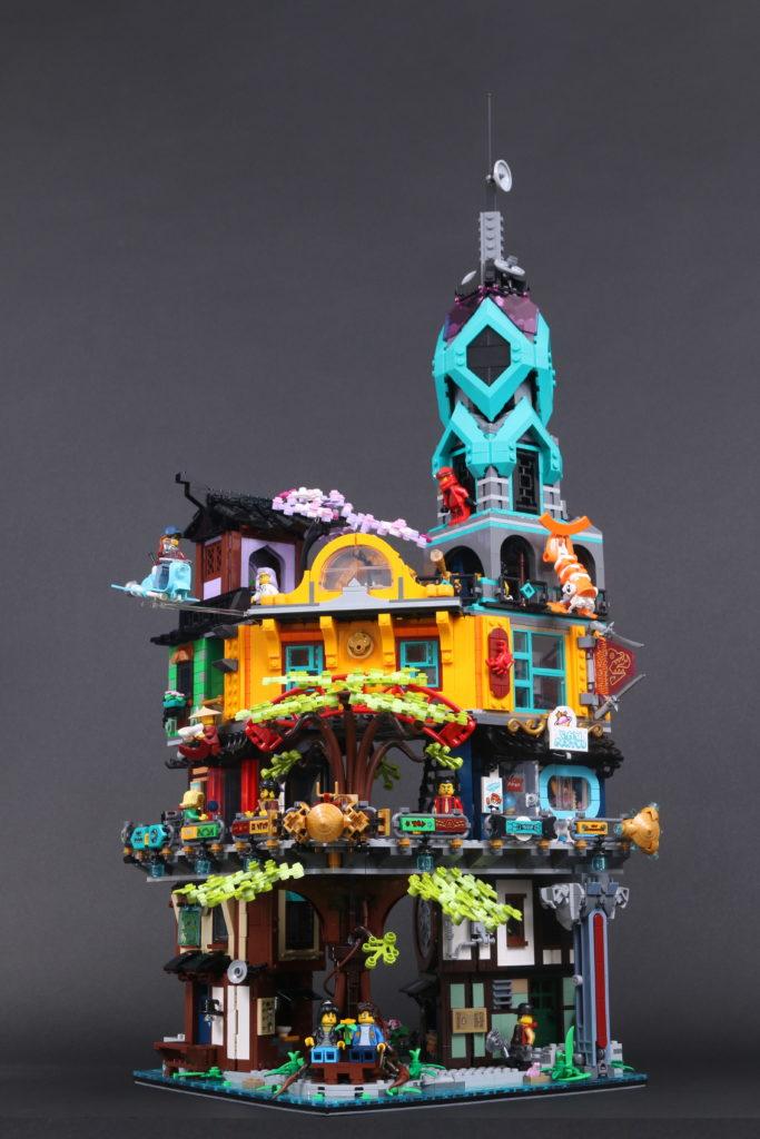 LEGO NINJAGO 71741 NINJAGO City Gardens review 19