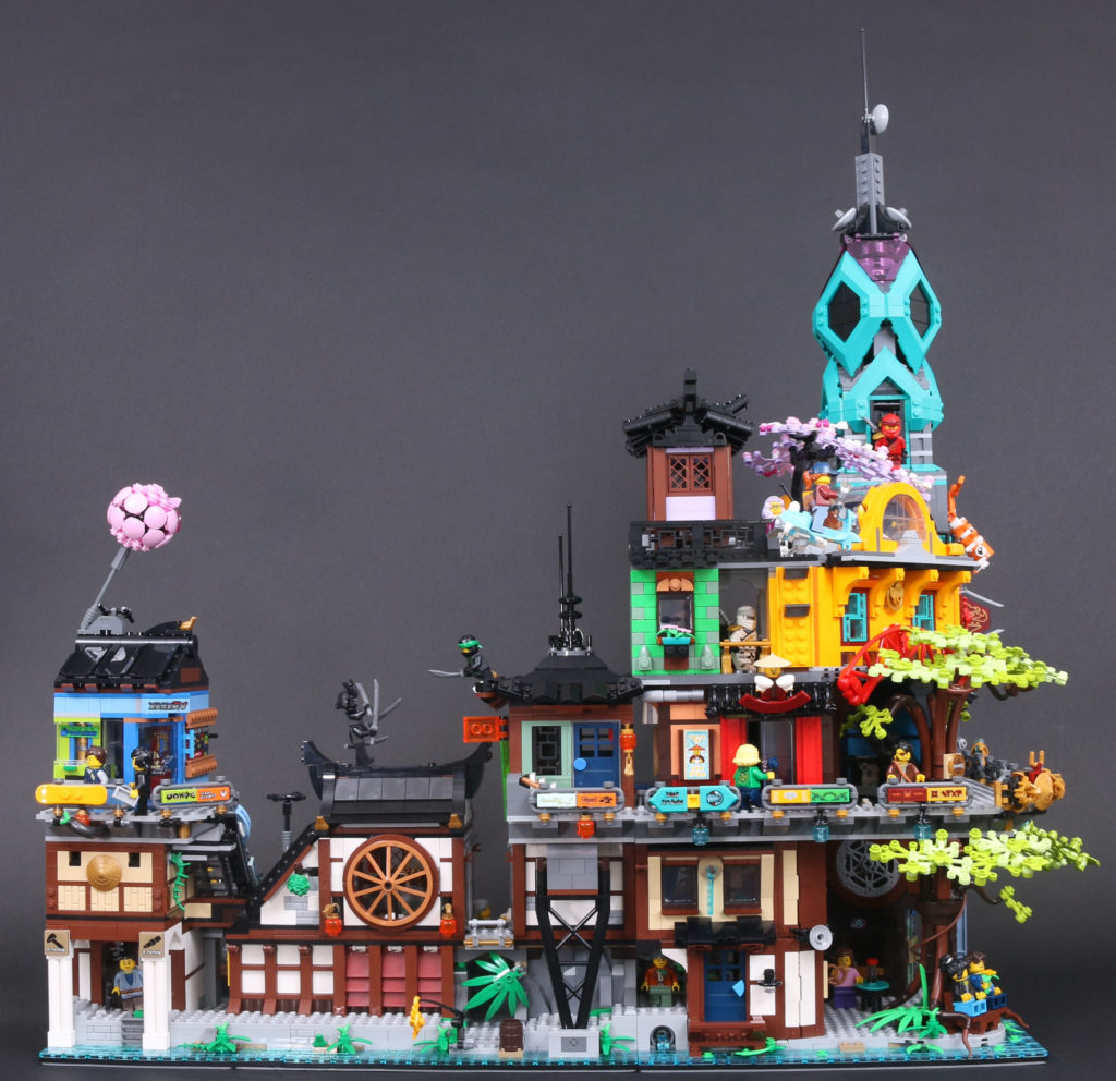 LEGO NINJAGO 71741 NINJAGO City Gardens Review 2