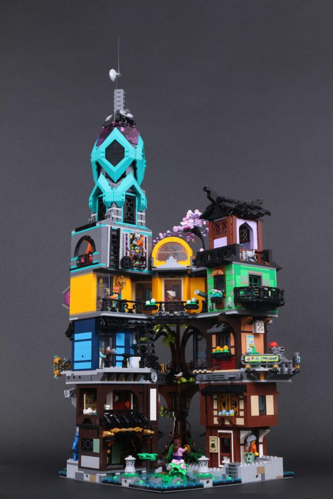 LEGO NINJAGO 71741 NINJAGO City Gardens review 20