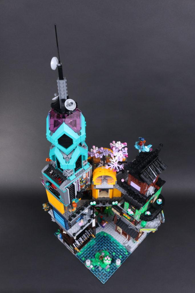 LEGO NINJAGO 71741 NINJAGO City Gardens review 21