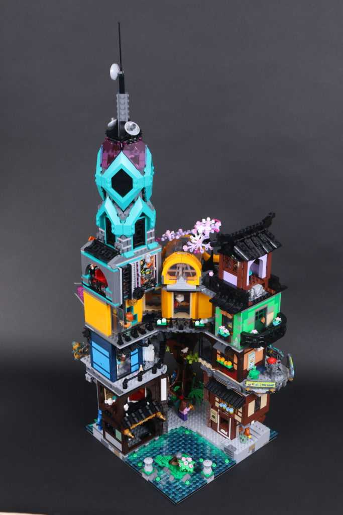 LEGO NINJAGO 71741 NINJAGO City Gardens review 22