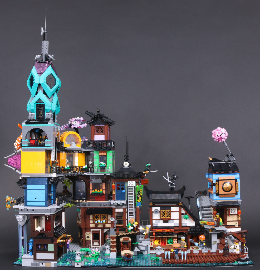 LEGO NINJAGO 71741 NINJAGO City Gardens Review 3