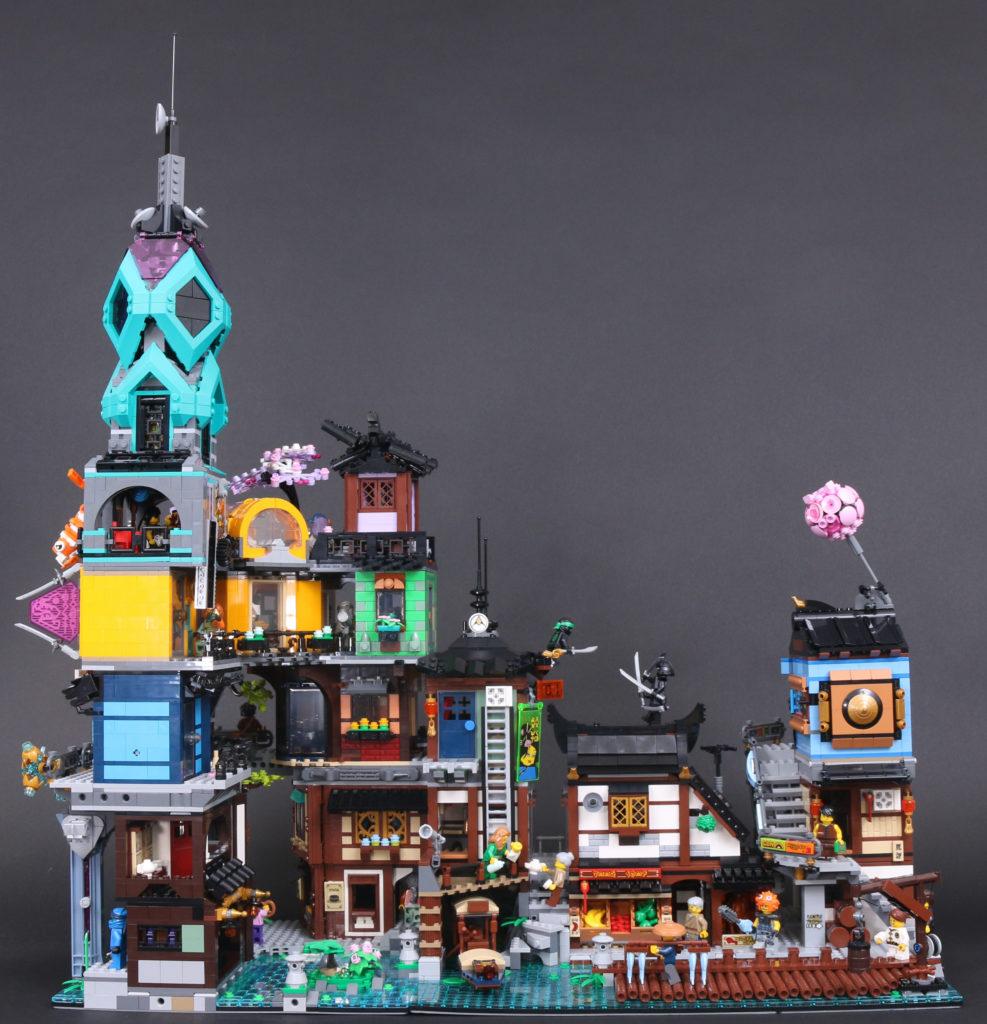 LEGO NINJAGO 71741 NINJAGO City Gardens review 3