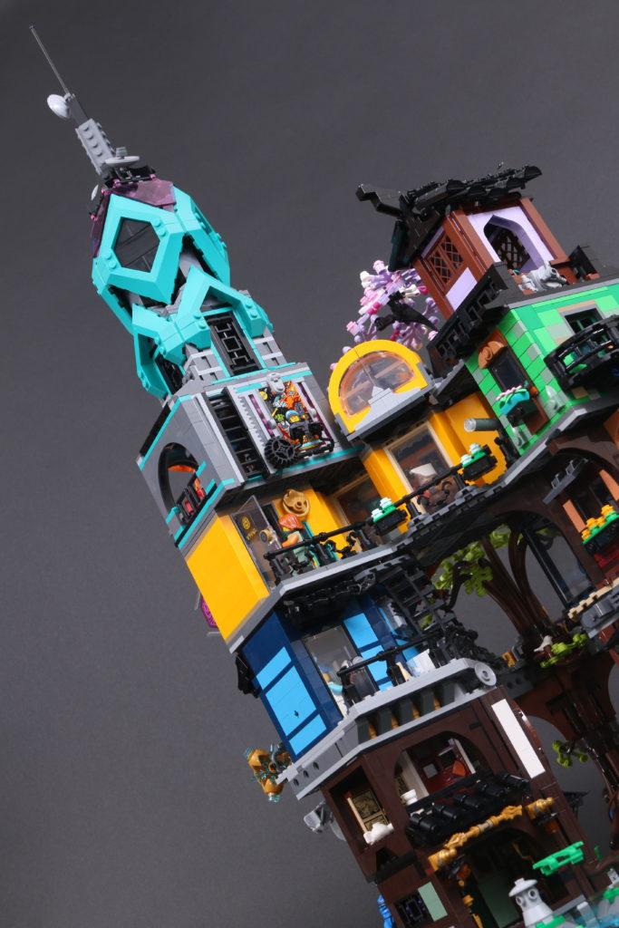 LEGO NINJAGO 71741 NINJAGO City Gardens review 30