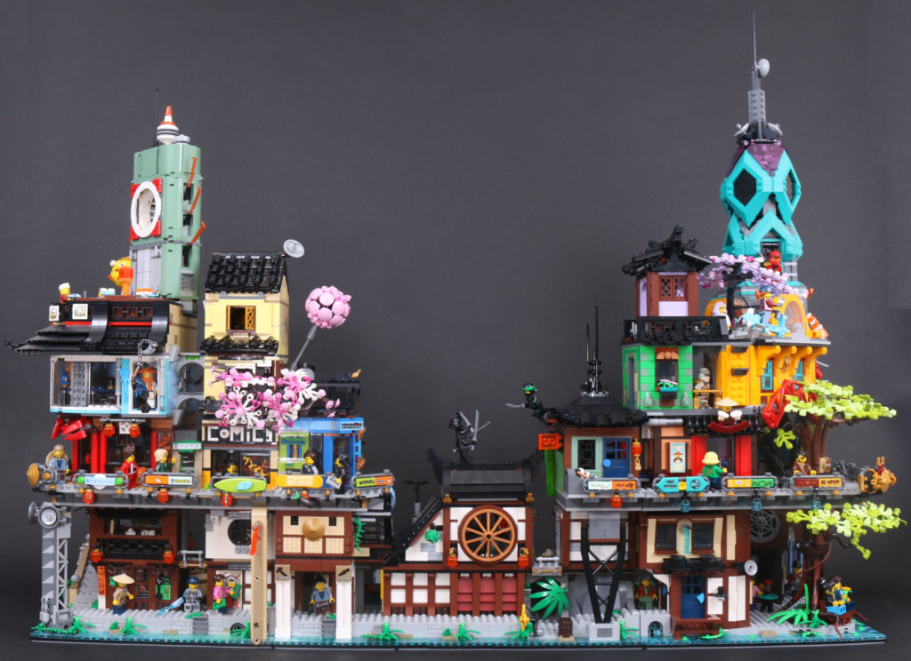 LEGO NINJAGO 71741 NINJAGO City Gardens review 4