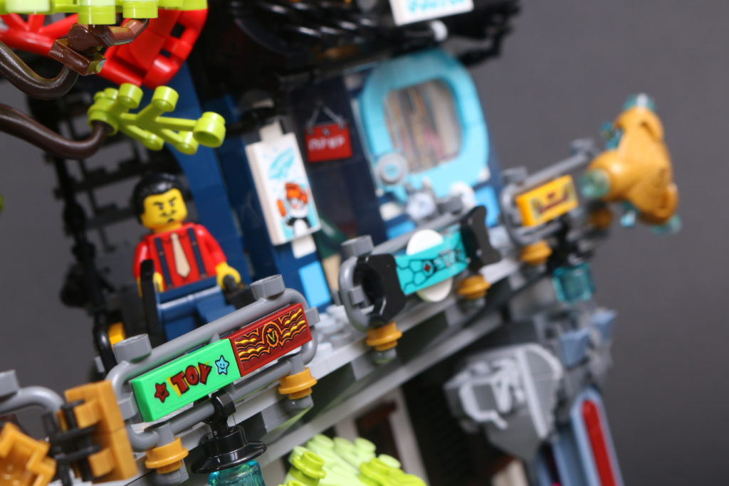 LEGO NINJAGO 71741 NINJAGO City Gardens review 40