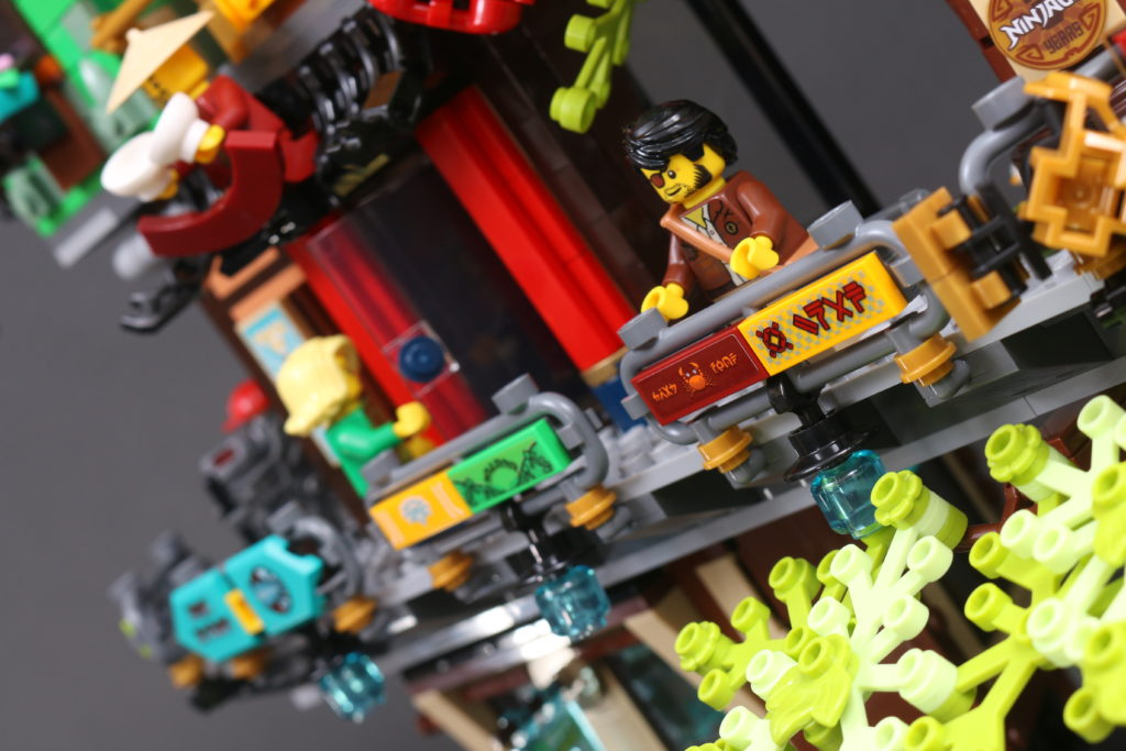 LEGO NINJAGO 71741 NINJAGO City Gardens Review 41