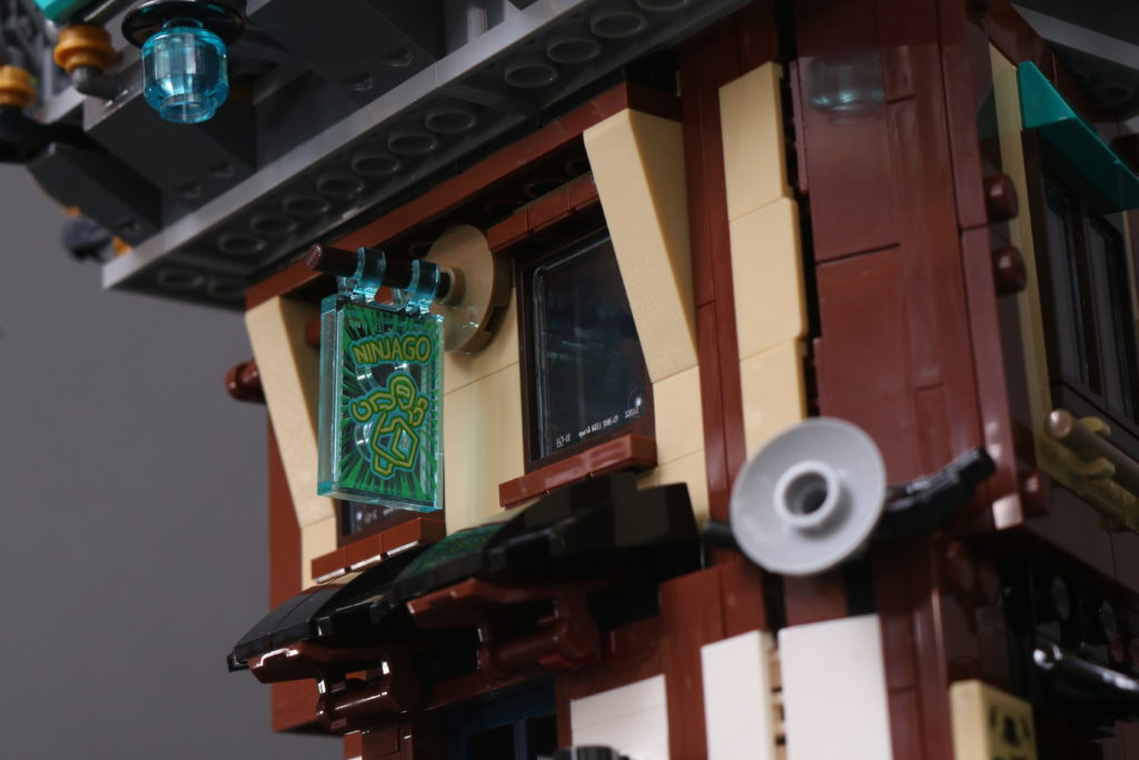 LEGO NINJAGO 71741 NINJAGO City Gardens review 43