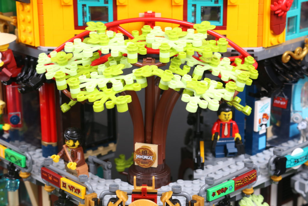 LEGO NINJAGO 71741 NINJAGO City Gardens Review 44