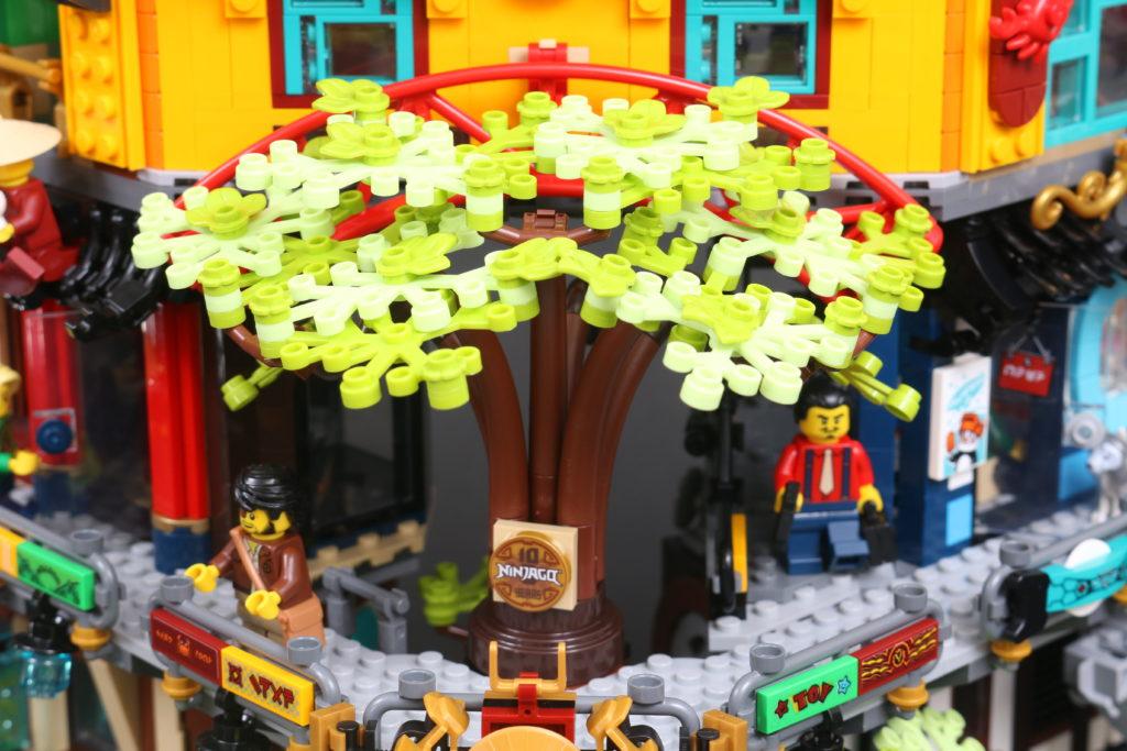 LEGO NINJAGO 71741 NINJAGO City Gardens review 44