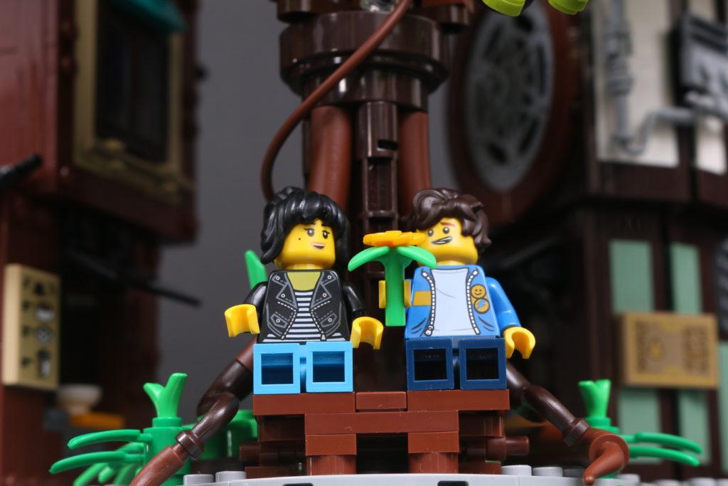 LEGO NINJAGO 71741 NINJAGO City Gardens review 45