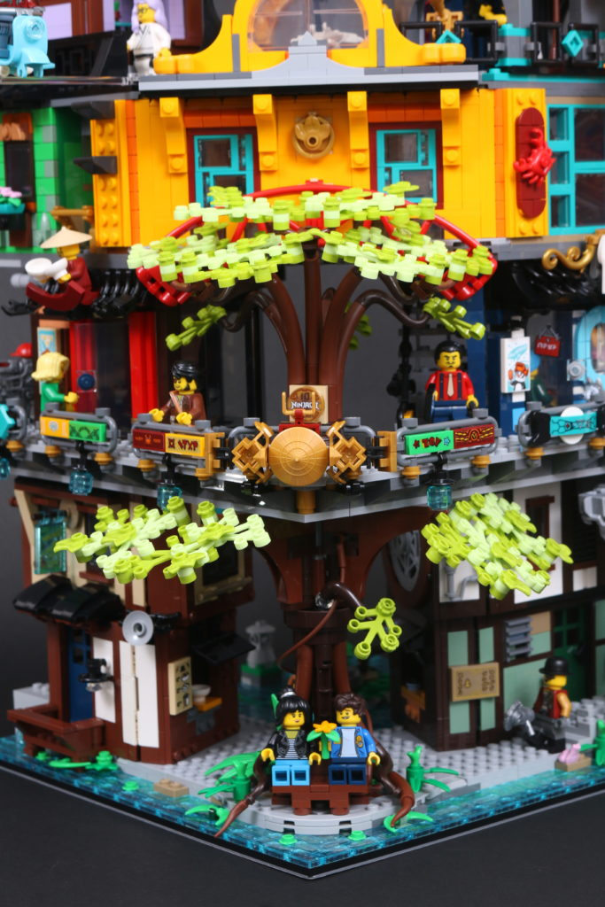 LEGO NINJAGO 71741 NINJAGO City Gardens Review 46