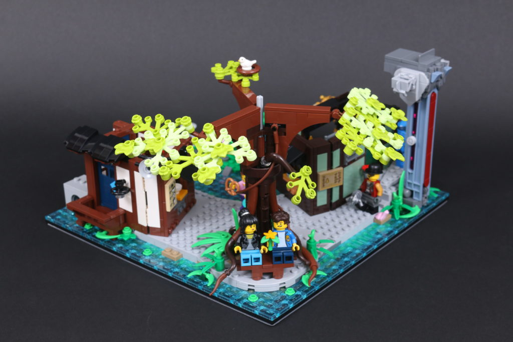 LEGO NINJAGO 71741 NINJAGO City Gardens review 47