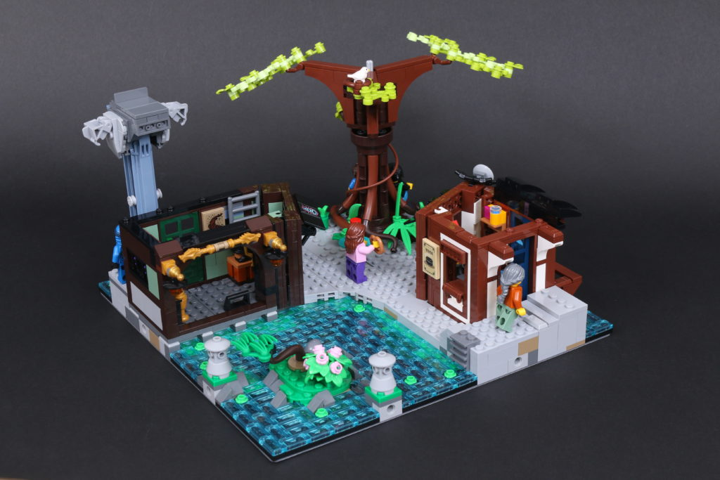 LEGO NINJAGO 71741 NINJAGO City Gardens Review 48